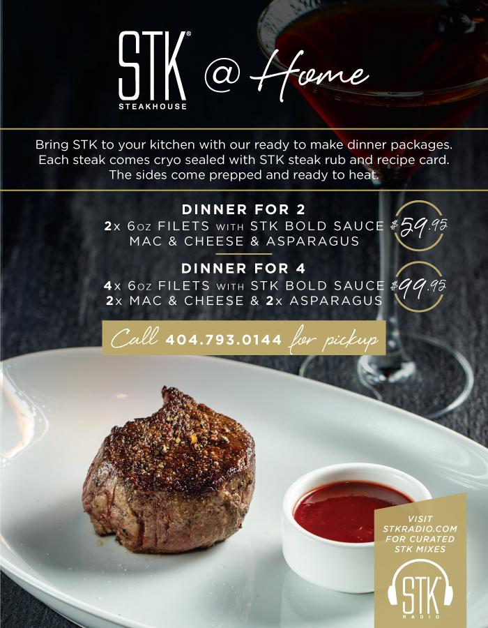 Stk Atlanta Steakhouse Seafood Drinks